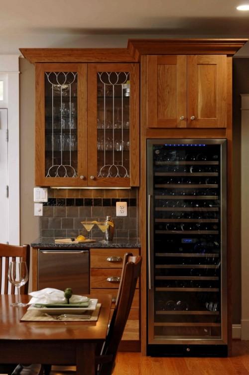 Großes Hausbar Design Küche Küchenschränke Tisch