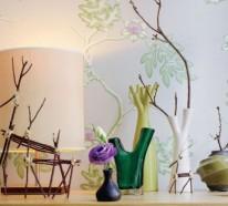 Innendekoration mit Zweigen – 20 coole Ideen