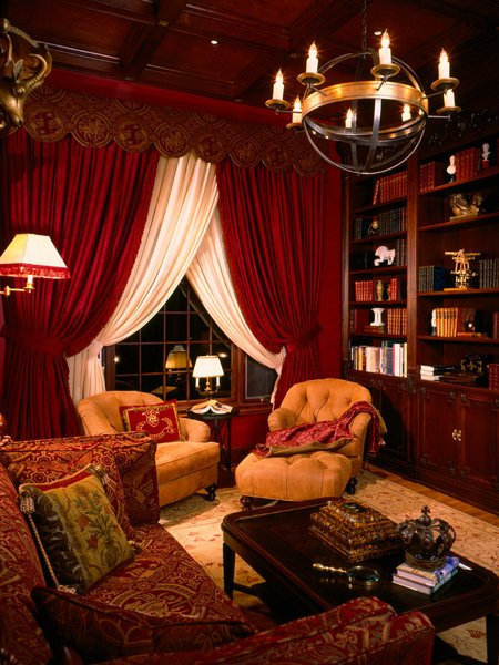 Elegante Hausbibliothek -15 fabelhafte Design Ideen
