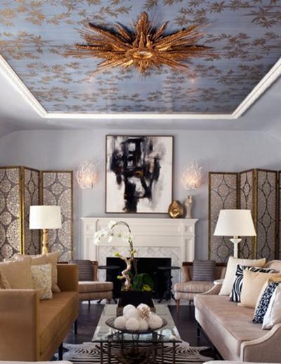 fantastische decke - 50 großartige ideen - Wohnzimmer Decken Design