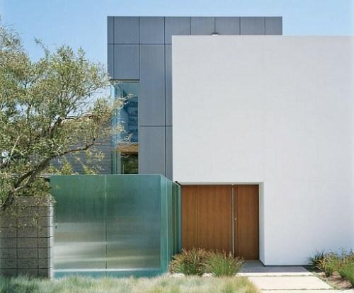 Minimalistische Elegante Haustüren Echtholz