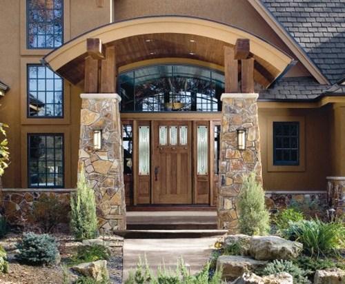 Moderne Haustüren Echtholz Luxus Haus Design