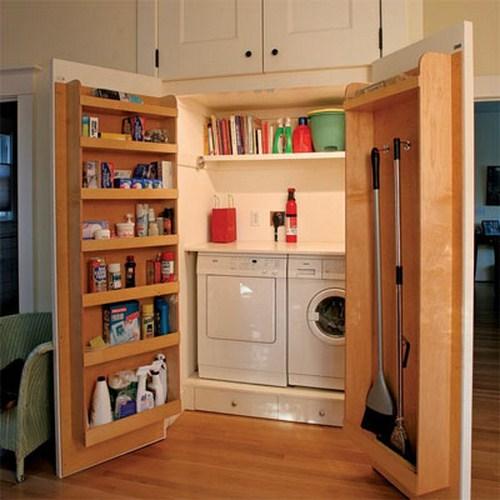 Praktisch Waschküche Interieur Idee Wohnzimmer