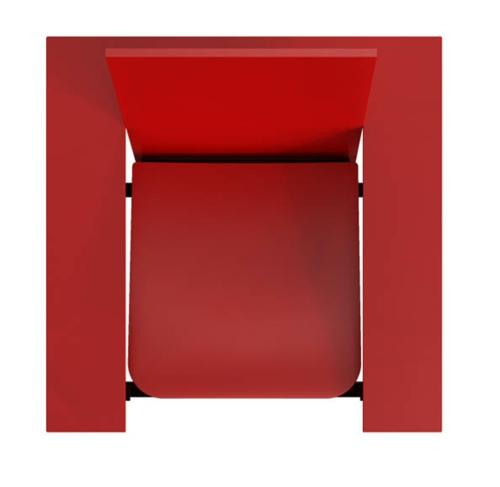 SWEETCH18 benoit lienart design rot schwarz tisch stuhl