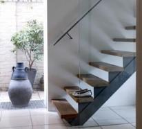 treppe in minimalistischem stil bilder, stilvolle treppendekoration – 7 ideen und tipps, Design ideen