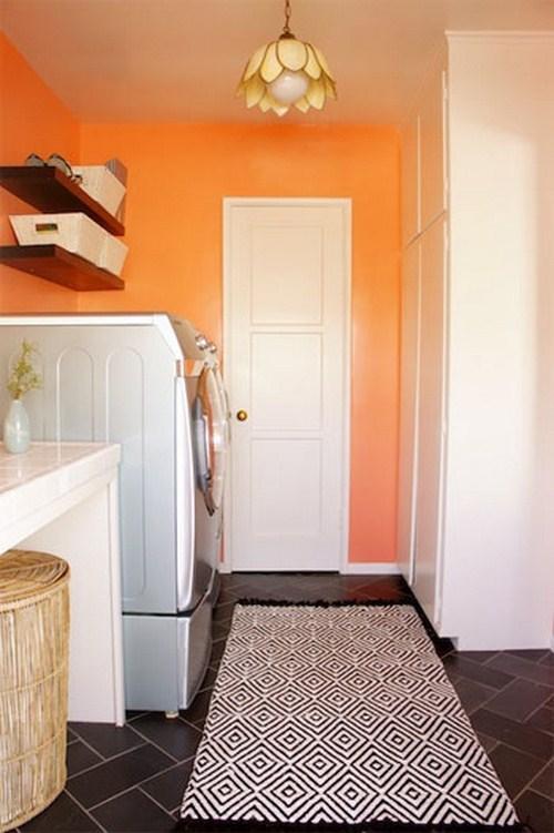gemütlichen Waschküche Innenraum Ihr Haus Interieur