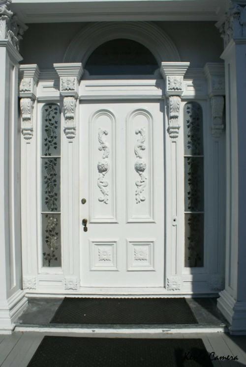 Haustür landhaus weiß  12 coole Design Ideen für attraktive Haustüren