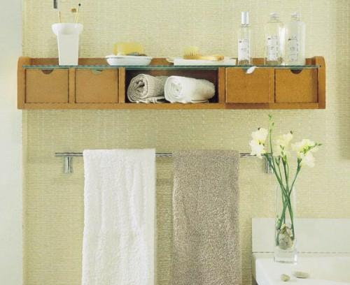 Schön 23 Kreative Tipps Zur Aufbewahrung Und Ordnung Im Badezimmer ...