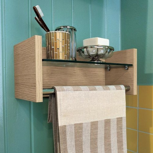 Wandregal badezimmer holz  die besten 25+ wandregal bad ideen auf pinterest ...