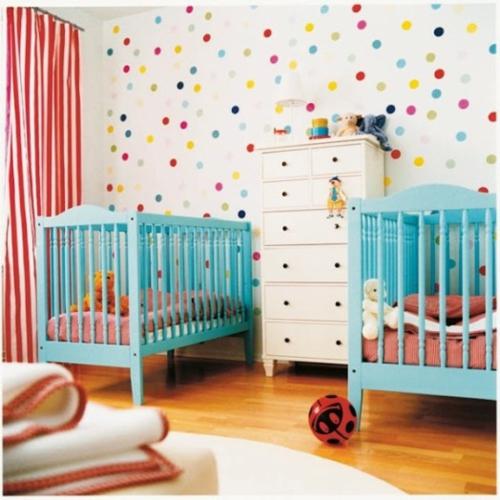 12 herrliche Babyzimmer Design Ideen für Zwillinge oder Mehrlinge