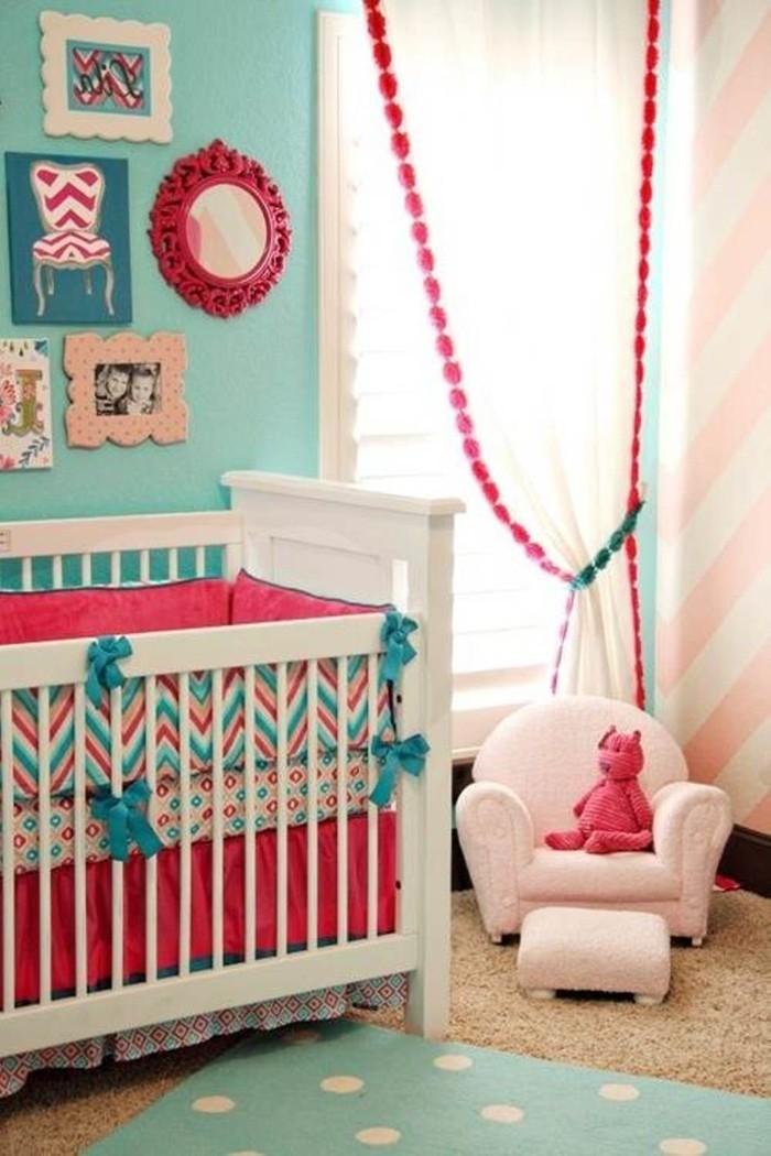 babyzimmer gestalten babyzimmer set bunt