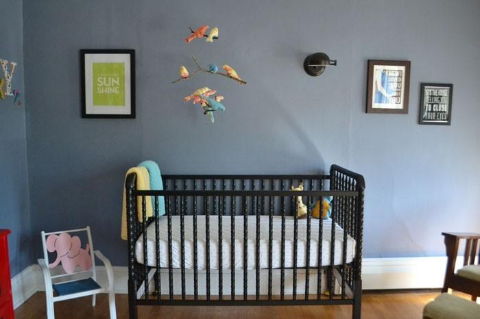 babyzimmer gestalten babyzimmer set dunkel