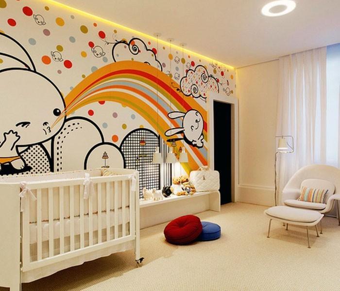 babyzimmer gestalten babyzimmer set graffiti
