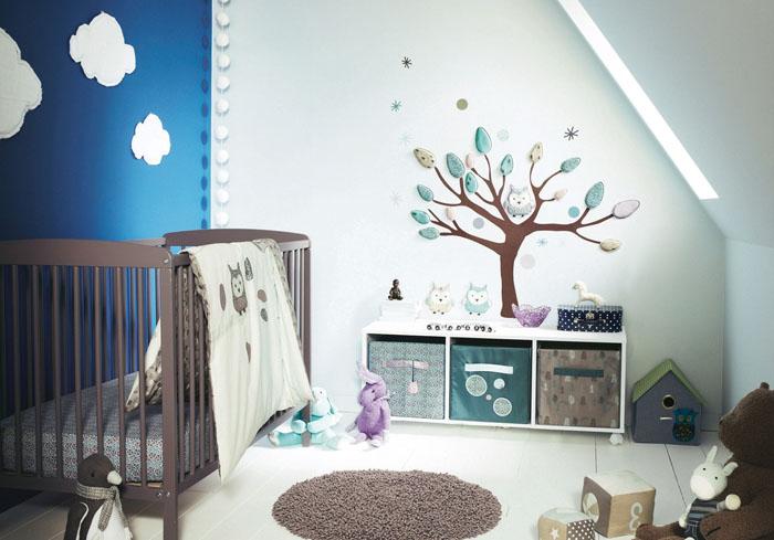 Zwillingszimmer gestalten  77 schnuckelige Design Ideen, wie man Babyzimmer gestalten kann