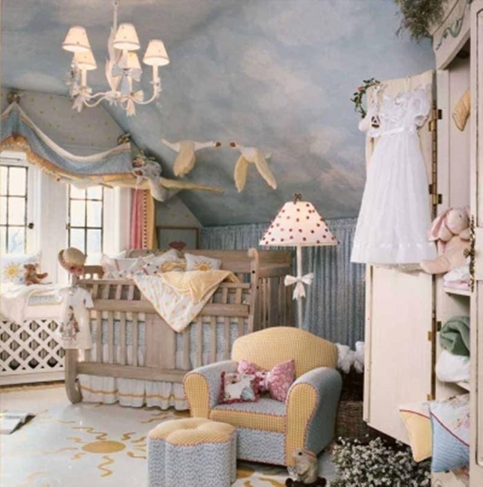 babyzimmer gestalten babyzimmer set märchen