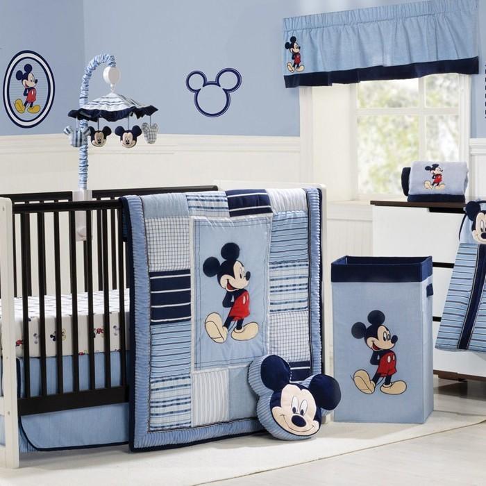 babyzimmer gestalten babyzimmer set mickey mouse