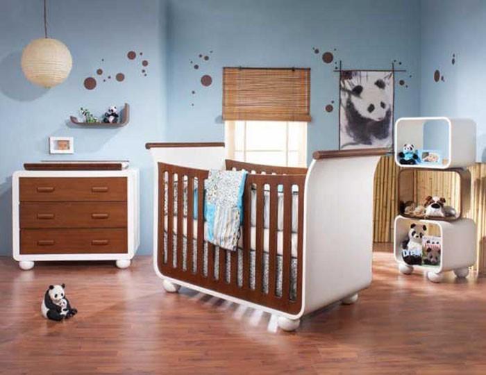 babyzimmer gestalten babyzimmer set panda