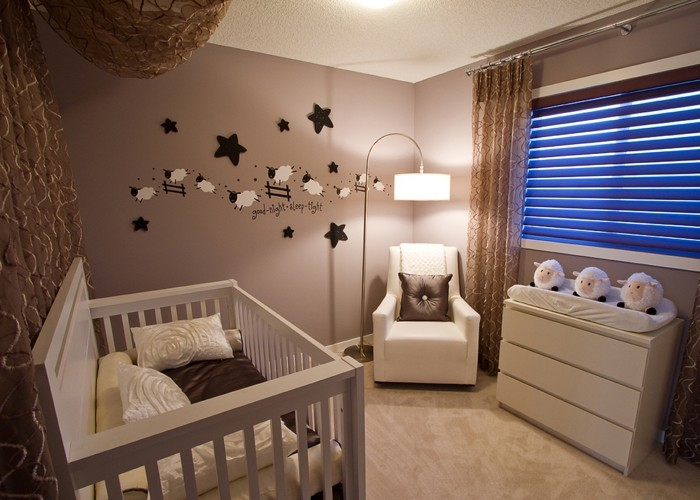 babyzimmer gestalten babyzimmer set schäfchen zählen