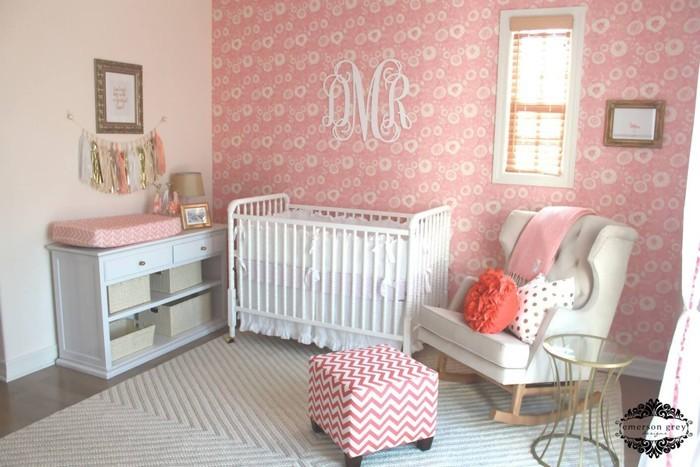 babyzimmer gestalten babyzimmer set zuckersueß rosa