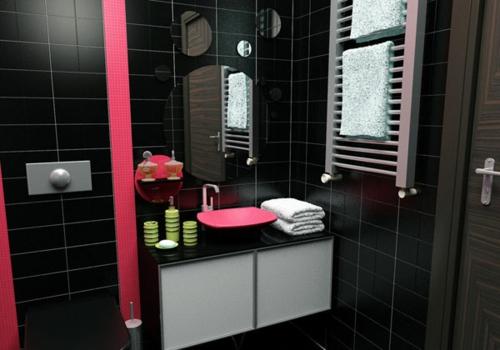 33 dunkle badezimmer design ideen for Akzente design