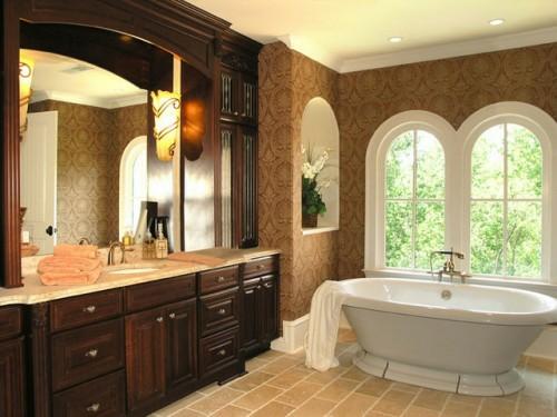 badewanne retro design prächtig klassestilvoll