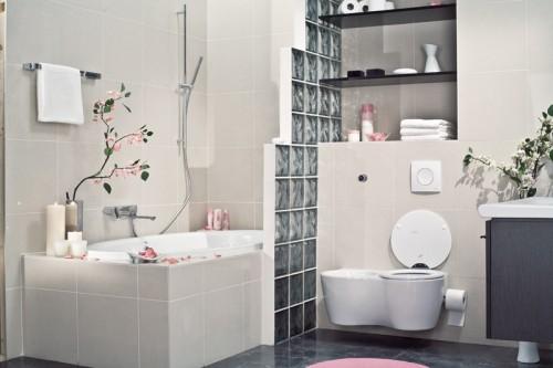 Badezimmer Deko Ideen Im Japanischen Stil Badewanne Romantik