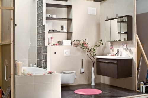 badezimmer deko ideen im japanischen stil harmonierende gegenstände