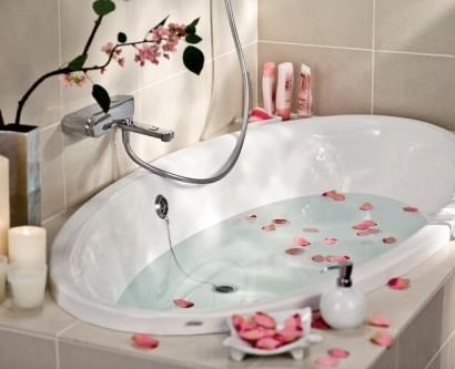 Badezimmer deko ideen im japanischen stil for Zimmer deko rosen