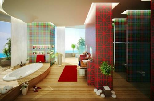 21 Bunte Badezimmer Designs U2013 Stilvolle Ideen ...