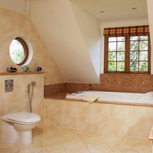 Badezimmer Im Dachgeschoss   21 Unglaubliche Ideen, Wohnzimmer Design