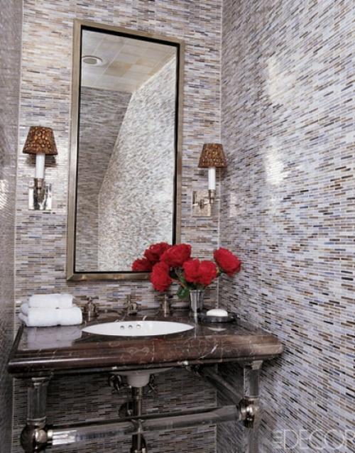 Badezimmer Interieurs extravagant kompakt originell