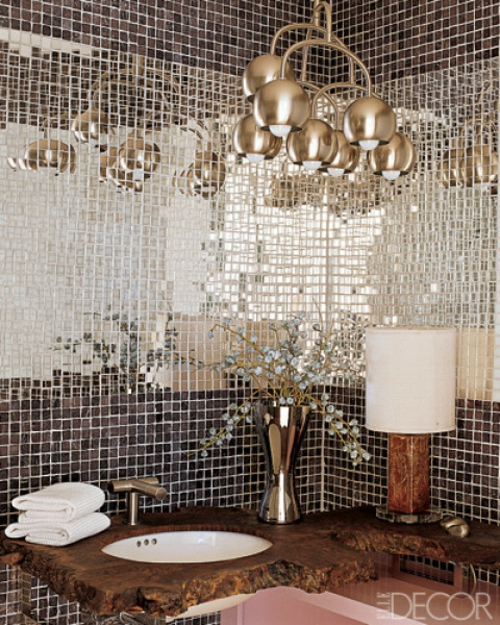 badezimmer interieuers luxus glanzvoll fliesen tücher