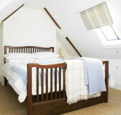 38 tolle und behagliche schlafzimmer im dachgeschoss -praktische ideen, Schlafzimmer