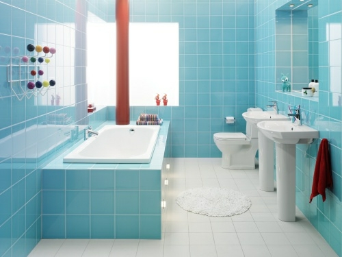 Badezimmer Blau ? Moonjet.info Badezimmer Dunkelblau