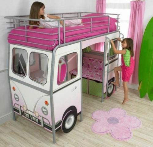 Kutschenbett im Kinderzimmer - 14 coole Ideen für schicke ...