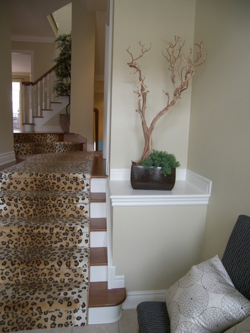coole-Treppen-Vorleger-Geparden-Muster