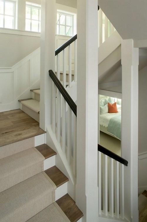 coole Treppen-Vorleger beigefarben design