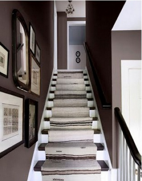 coole Treppen-Vorleger grau farbe