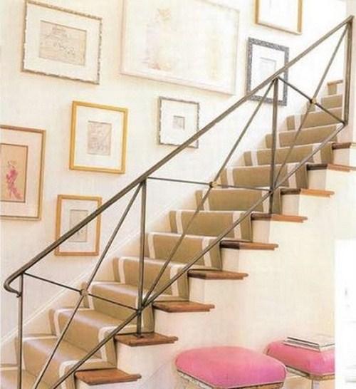 coole Treppen-Vorleger hellbraune Farbe idee