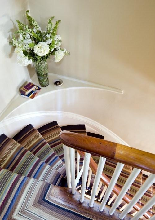 coole bunten Treppen-Vorleger Design Idee