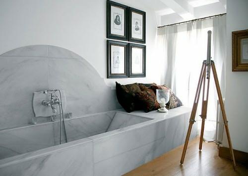 coole fliesenspiegel ideen badezimmer design art