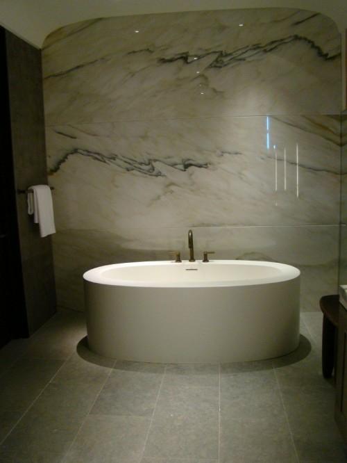 coole fliesenspiegel ideen badezimmer originell