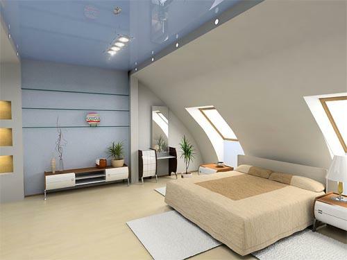 Schlafzimmer Im Dachgeschoss Vorschlag Fur Kompakten Kleiderraum