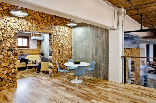20 erstaunliche Ideen f u00fcr Dekoration mit Brennholzmuster