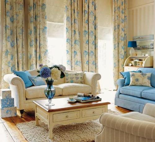 vorhänge für wohnzimmer:22 wunderschöne Ideen für dekorative Vorhänge zu Hause