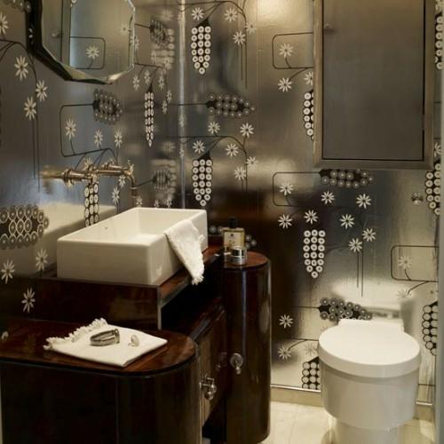 dunkle badezimmer design ideen edler schrank moderne einrichtung