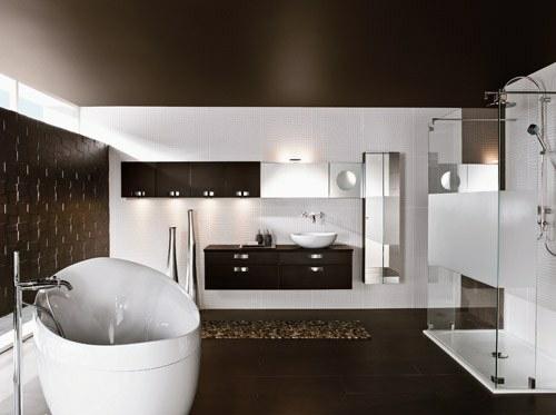 Zullian.com - ~ Beispiele Zu Ihrem Haus Raumgestaltung Moderne Badezimmer Fliesen Braun