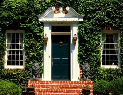 Haustüren englischer landhausstil  12 coole Design Ideen für attraktive Haustüren