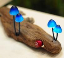Pilzförmige LED Leuchten von Yukio Takano