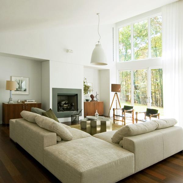 Ecksofa luxus  70 moderne, innovative Luxus Interieur Ideen fürs Wohnzimmer